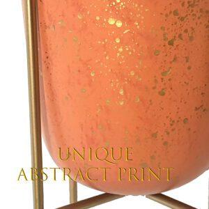 Blissful Planter INARA – 1 set ( metal pot + metal stand)