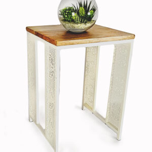 Coffee Table – Royal Medallion Laser Cut  | 1 End Table | New