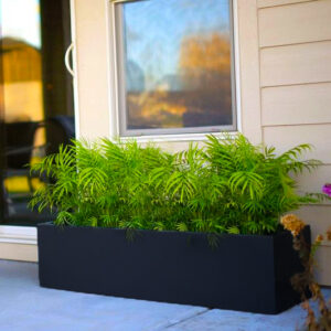 Limited Metal Rectangular Planter Box |EXTRA-LARGE 30″