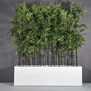 Limited Metal Rectangular Planter Box |White LARGE 24″